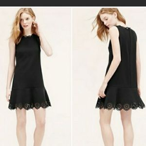 Loft mini black dress